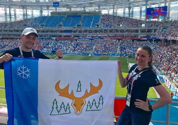 Футбольного фаната из Ямала долго не пускали на матч ЧМ-2018 из-за оленя на флаге