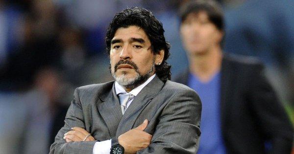 ФИФА прекращает сотрудничество с Марадоной из-за его неадекватного поведения