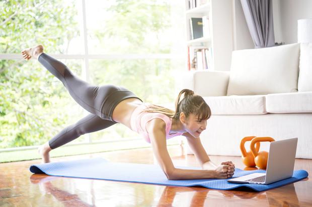 Фитнес тренировка онлайн в домашних условиях