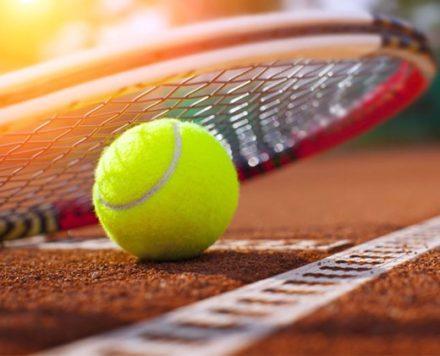 Занимайтесь теннисом на профессиональном корте